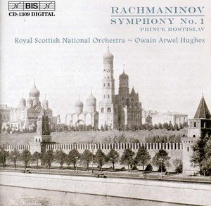 Symphony 1 in D minor /  Prince Rostislav
