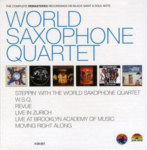 World Saxophone Quartet - The Complete Remastered Recordings