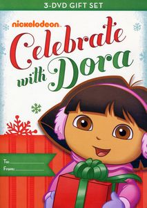 Celebrate with Dora [Full Frame] [3 Discs] [Slipsleeve]