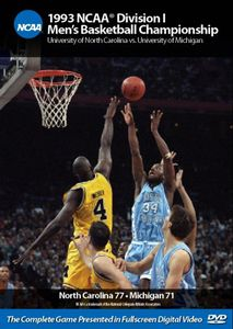 1993 NCAA Championship North Carolina Vs Michigan