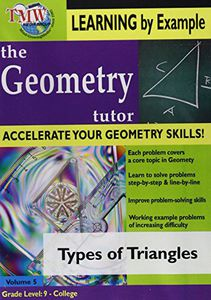 Types of Triangles: Geometry Tutor