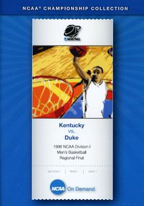 1998 NCAA Division Kentucky Vs. Duke