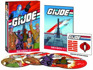 Gi Joe Real American Hero: Season 1 - Part 1