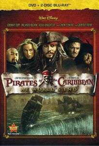 Pirates Of The Caribbean: At World's End [3-Discs] [1 DVD/ 2 Blu-ray Combo Pack] [DVD Amaray Case]