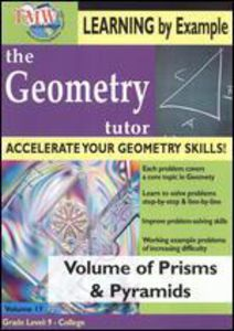 Geometry Tutor: Volume Of Prisms and Pyramids