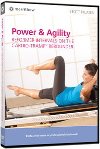 Power and Agility: Reformer Intervals On The Cardio - Tramp Rebounder