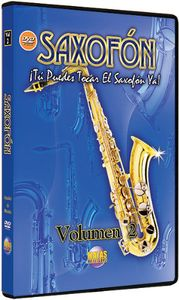 Saxofon, Vol. 2: Spanish Only You Can Play Saxophone Now, Vol. 2