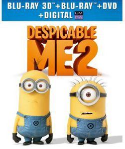Despicable Me 2 (With 3 Mini-Movies)