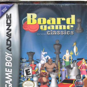 Chess/ Checkers/ Backgammon for Gameboy Advanced