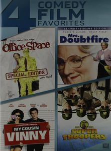 Office Space /  Mrs Doubtfire /  My Cousin Vinny