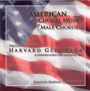 American Choral Music for Male Chorus