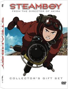 Steamboy [Director's Cut] [Widescreen] [Collectible Booklet] [Postcards] [Mini Comic Book] [Gift Set]