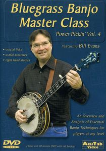 Power Pickin Vol. 4 DVD Bluegrass Banjo Master Cla
