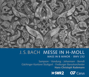 Messe in H-Moll (Mass in B Minor) BWV 232