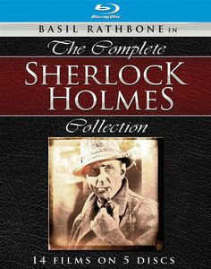 Basil Rathbone in The Complete Sherlock Holmes Collection