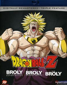 Dragon Ball Z: Broly Triple Feature [Edit][Japanimation]