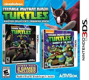 Teenage Mutant Ninja Turtles: Master Splinter's Training Pack for Nintendo 3DS