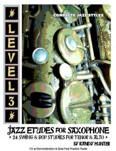 Level Three: Jazz Etudes for Saxophone