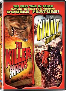 The Killer Shrews/ The Giant Gila Monster [2 Discs][Color][B&W][Full FrAme]