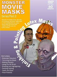 Mask Making: Finishing and Painting Latex Masks