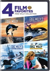 4 Film Favorites: Free Willy 1-4 Collection