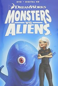 Monsters vs Aliens w/  Family Icons Oring