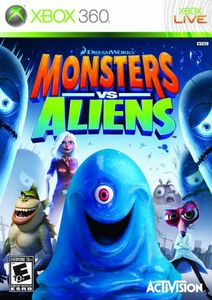 Monsters vs. Aliens for Xbox 360