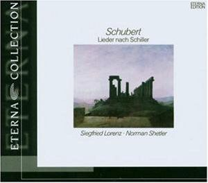 Lieder to Texts By Schiller