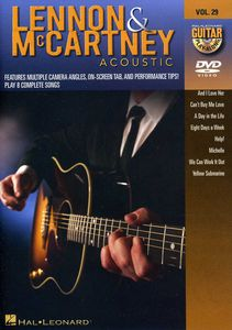 Guitar Play Along: Lennon and McCartney Acoustic, Vol. 29
