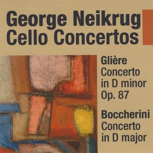 Gliere Cello Concerto in D minor