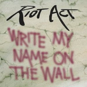 Write My Name on the Wall