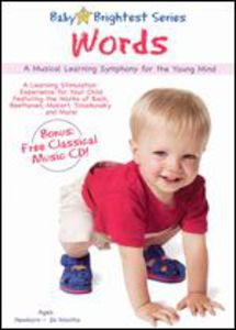 Baby Brightest: Words [W CD] [Childrens] [Educational]