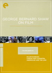 George Bernard Shaw On Film (Eclipse Series 20)