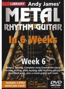 Methal Rhythm Guitar in 6 Weeks 6