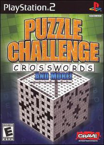 Puzzle Challenge: Crosswords & More for PlayStation 2