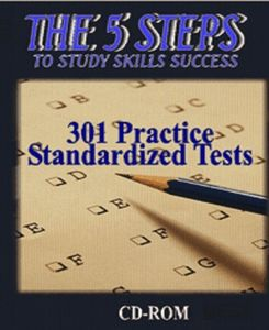 5 Steps - 301 Practice Standardized Tests