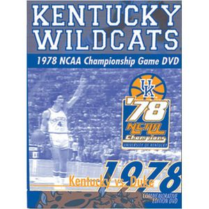 The 1978 NCAA Championship Game Kentucky Wildcats [Sports]