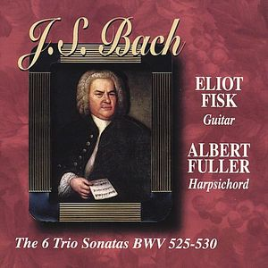 J.S.Bach the Six Trio Sonatas BWV 525-530Guitar &