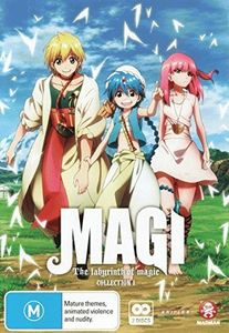 Magi: The Labyrinth of Magic-Collection 1