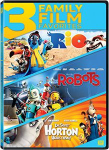 Rio /  Robots /  Horton Hears a Who Triple Feature