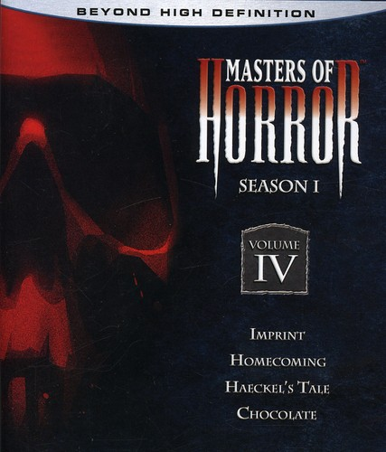 Masters Of Horror: Season One, Vol. 4