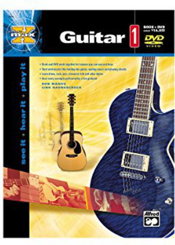 Alfred's Max Guitar, Vol. 1 [Instructional] [W Book]