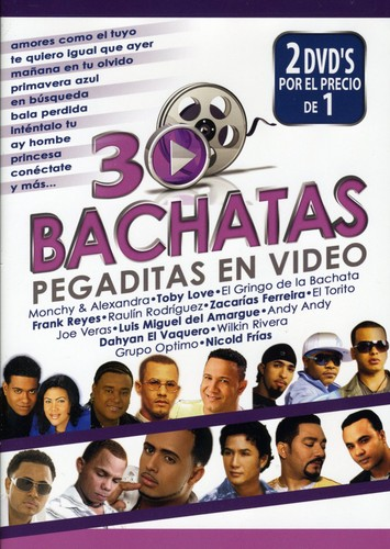 30 Bachatas Pegaditas en Video /  Various