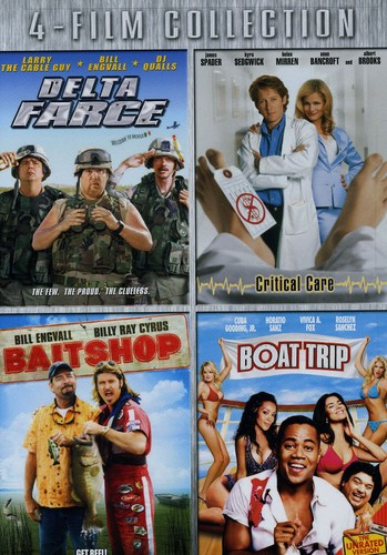 Delta Farce/ Critical Care/ Bait Shop/ Boat Trip [4 Discs]