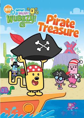 Wow Wow Wubbzy: Pirate Treasure [Full Frame]