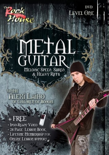 Metal Guitar, Melodic Speed, Shred and Heavy Riffs Level 1