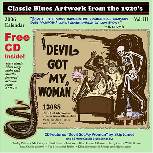 Classic Blues Artwork 1920's Calendar 2006 /  Various