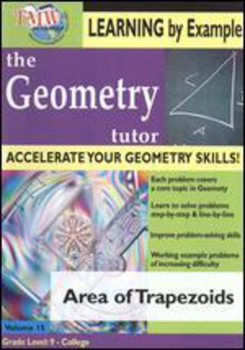 Geometry Tutor: Area of Trapezoids