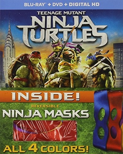 Teenage Mutant Ninja Turtles (With Mask)