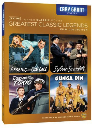 TCM Greatest Classic Legends Film Collection: Cary Grant Volume 2